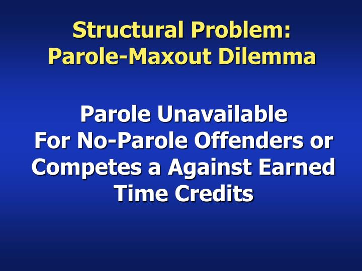 Structural Problem: