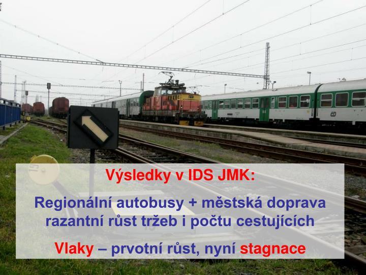Výsledky v IDS JMK: