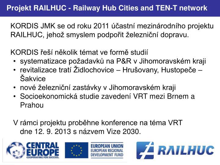 Projekt RAILHUC -