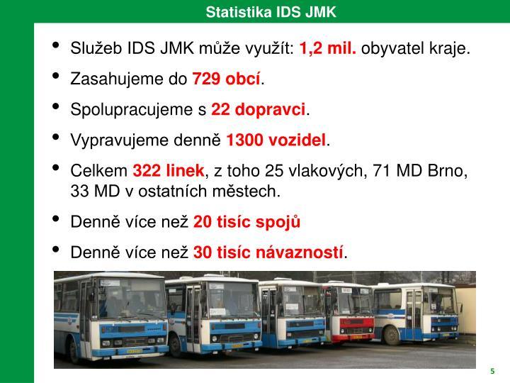 Statistika IDS JMK