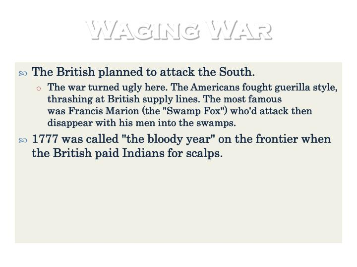 Waging War