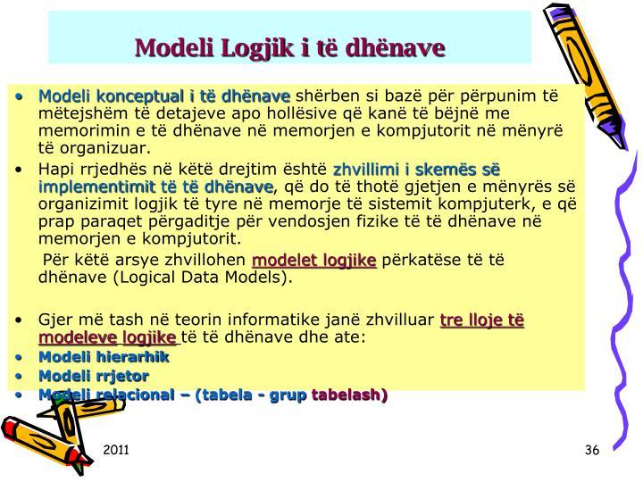 Modeli Logjik i t