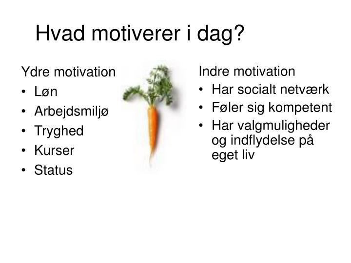 Ydre motivation