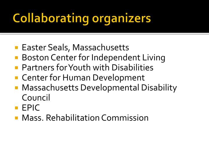 Collaborating organizers