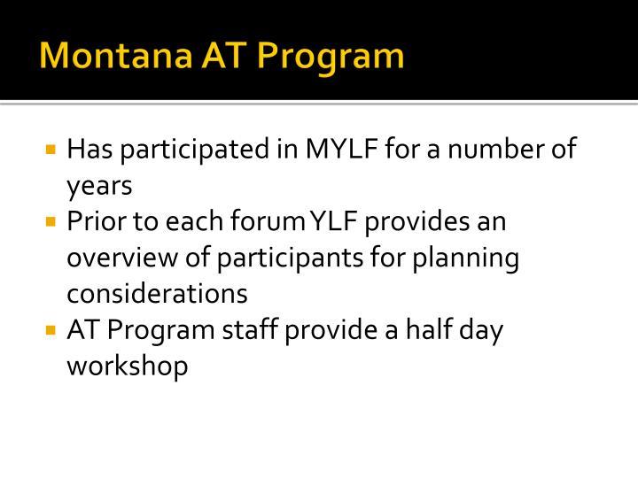 Montana AT Program