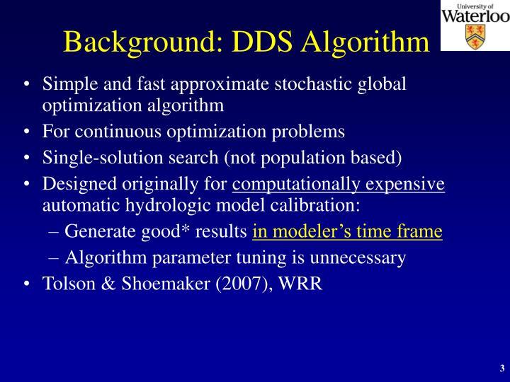 Background: DDS Algorithm