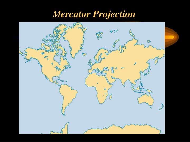 M ercator projection