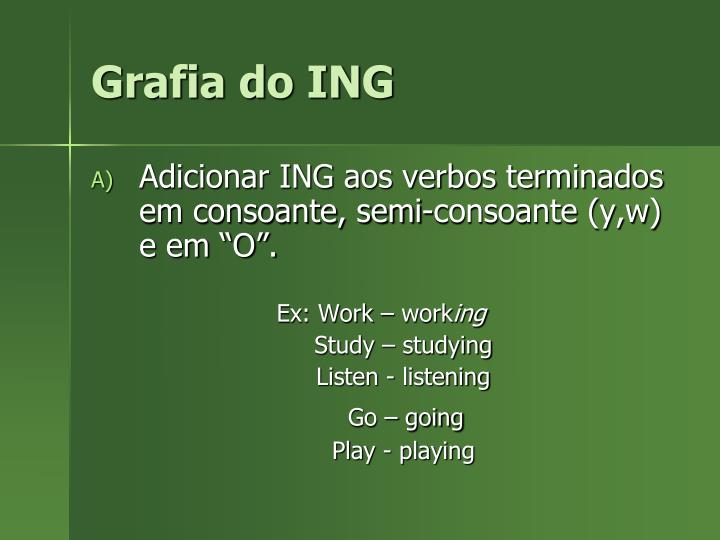 Grafia do ING