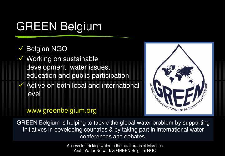GREEN Belgium