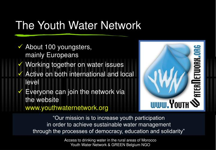 The Youth Water Network