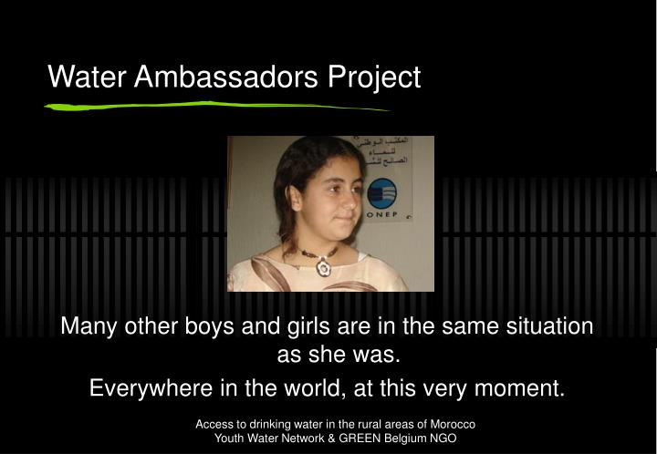 Water Ambassadors Project
