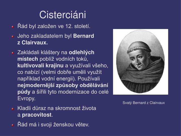 Cisterciáni