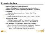 dynamic attribute