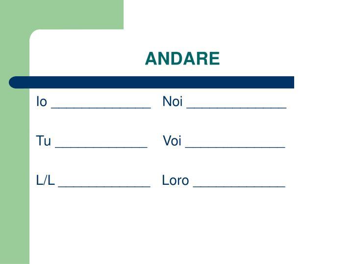 ANDARE