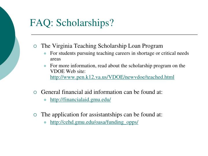 The Virginia Teaching Scholarship Loan Program