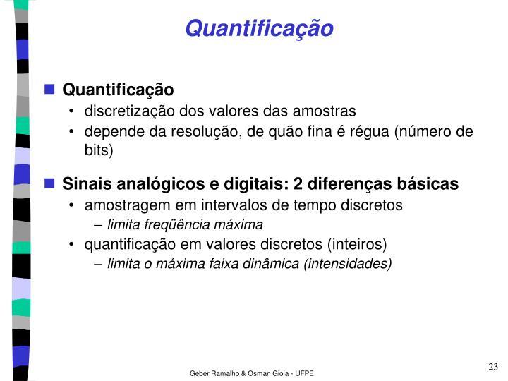 Quantificação