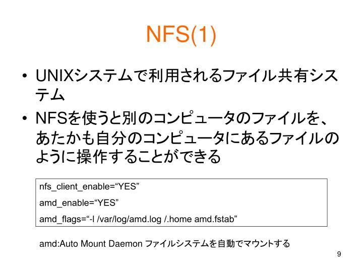 NFS(1)
