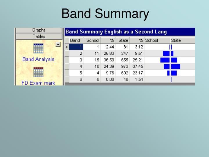 Band Summary