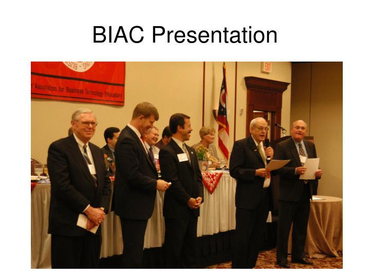 BIAC Presentation