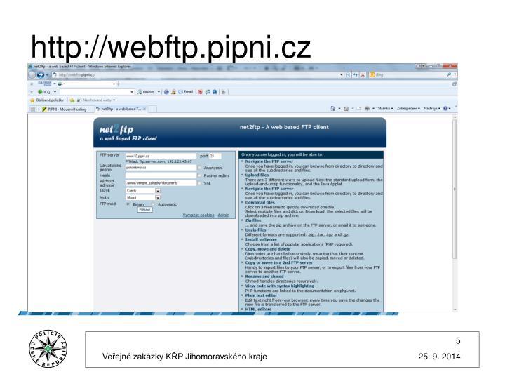 http://webftp.pipni.cz