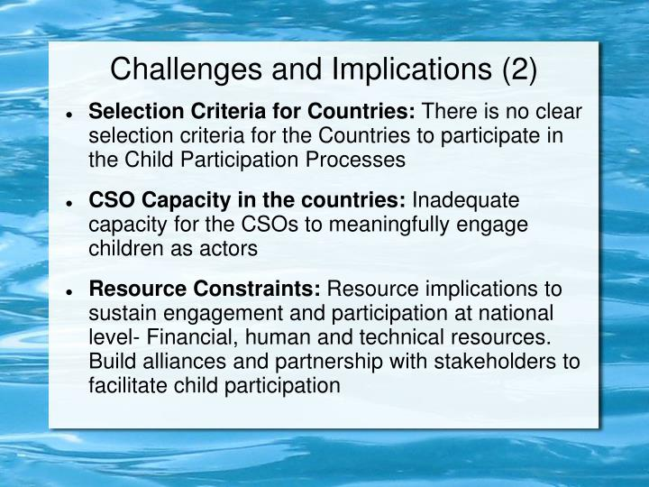 Challenges and Implications (2)