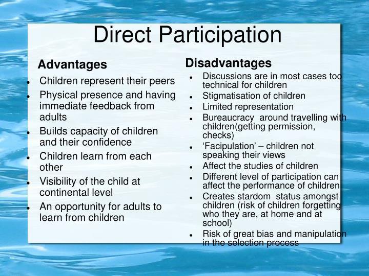 Direct Participation