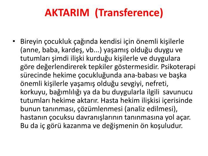 AKTARIM (
