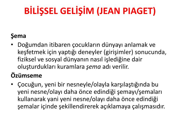 BLSEL GELM (JEAN PIAGET)