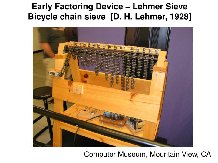 Early Factoring Device – Lehmer Sieve