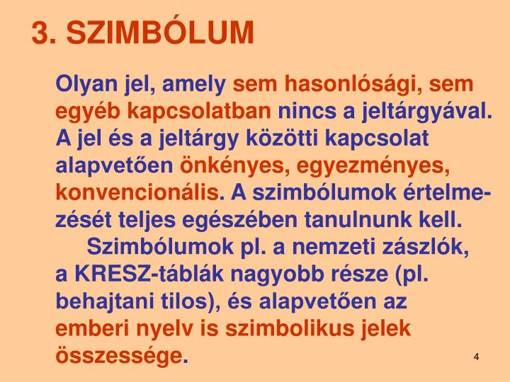 3. SZIMBÓLUM