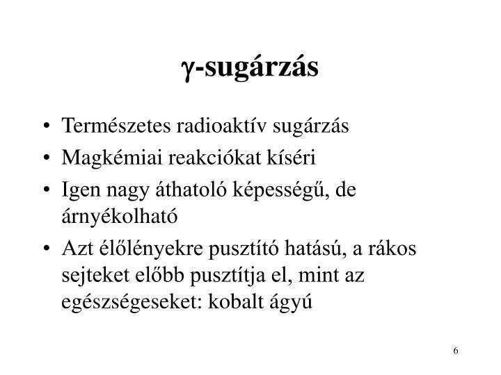 -sugárzás