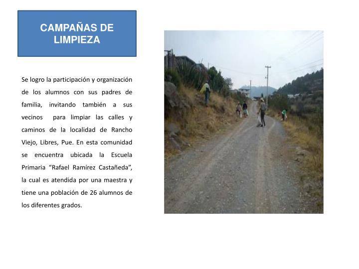 CAMPAÑAS DE LIMPIEZA