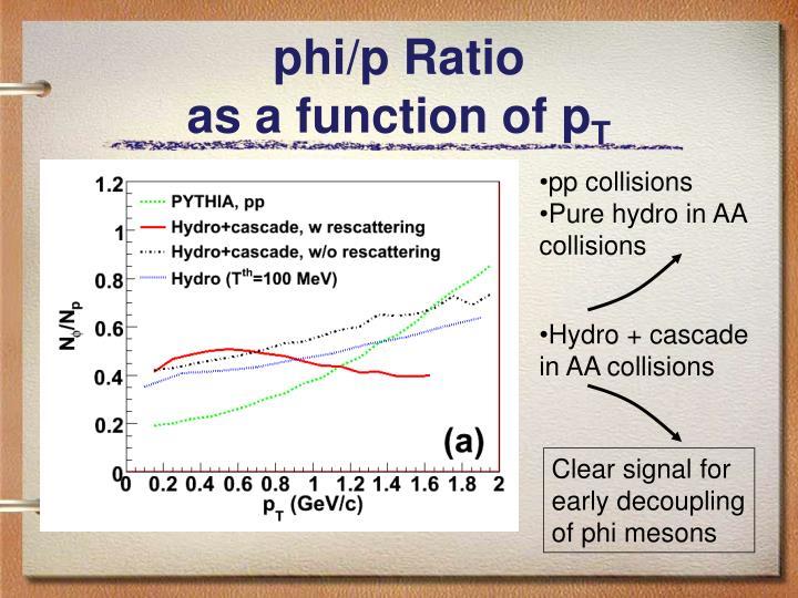 phi/p Ratio