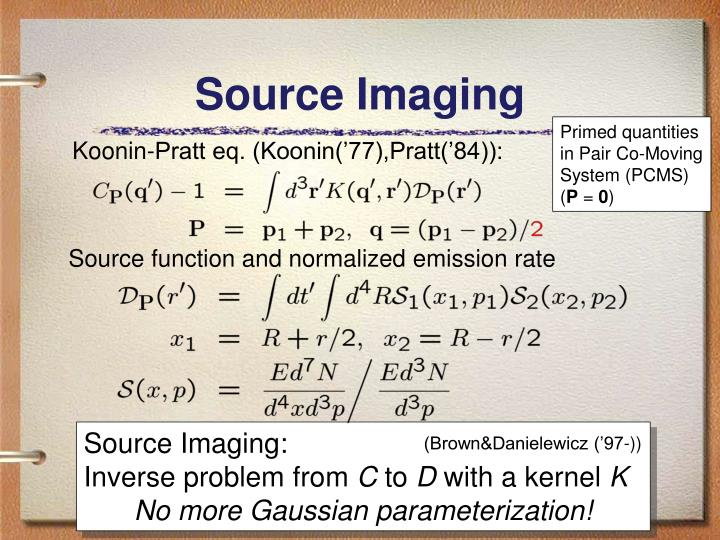 Source Imaging