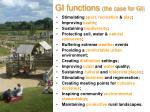 gi functions the case for gi