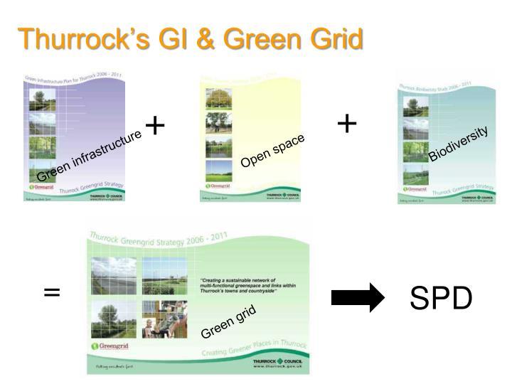 Thurrock's GI & Green Grid
