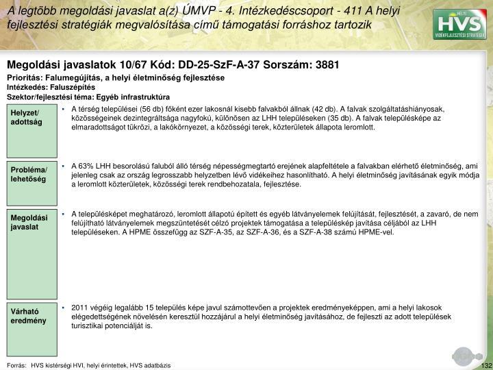 Megoldási javaslatok 10/67 Kód: DD-25-SzF-A-37 Sorszám: 3881