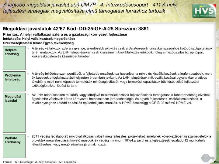 Megoldási javaslatok 42/67 Kód: DD-25-GF-A-25 Sorszám: 3861
