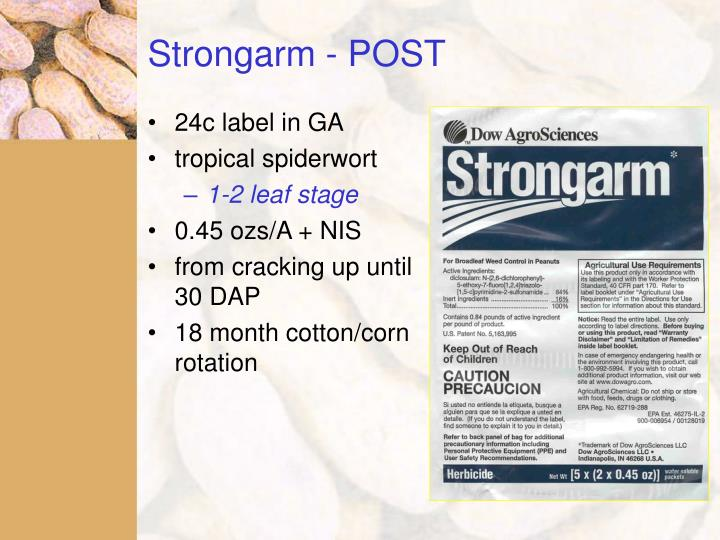 Strongarm - POST