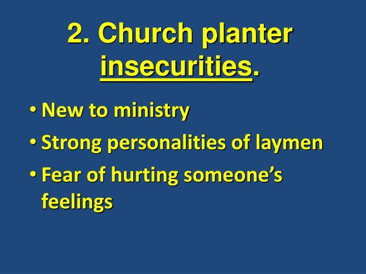 2. Church planter