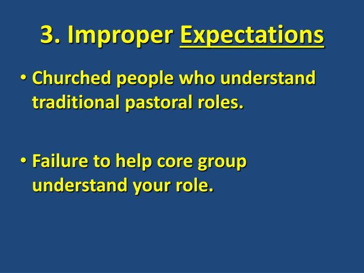 3. Improper
