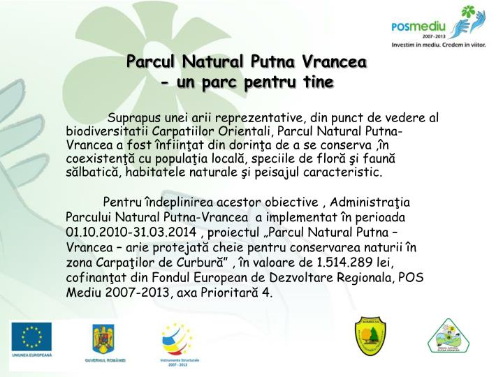 Parcul Natural Putna Vrancea