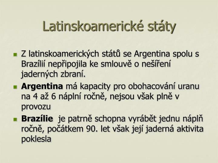 Latinskoamerické státy