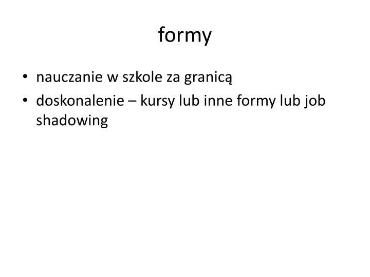 formy