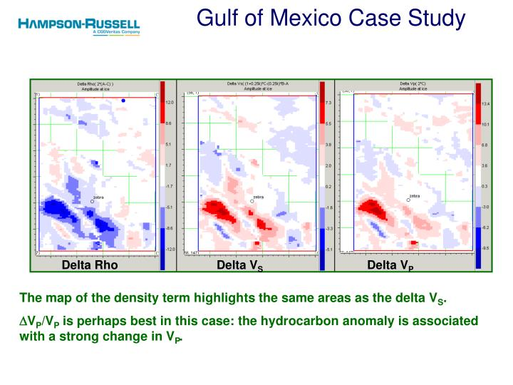 Gulf of Mexico Case Study