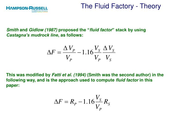 The Fluid Factory - Theory
