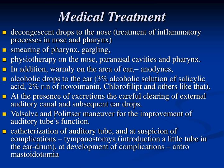 Medical Treatment