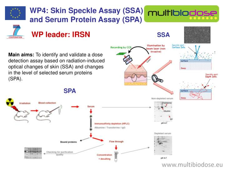 WP4: Skin Speckle Assay (SSA)