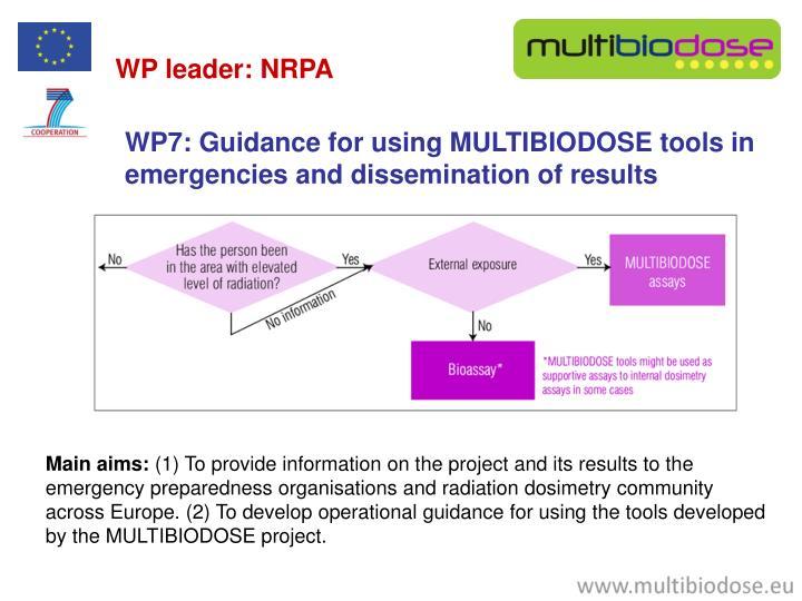 WP leader: NRPA