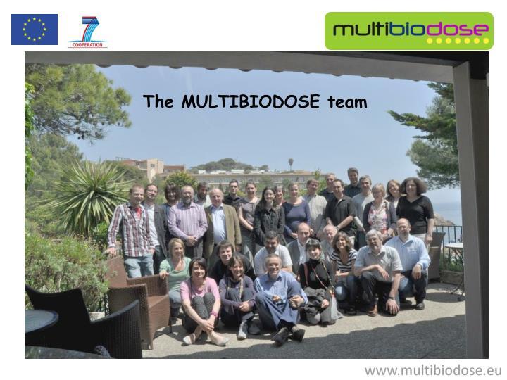 The MULTIBIODOSE team
